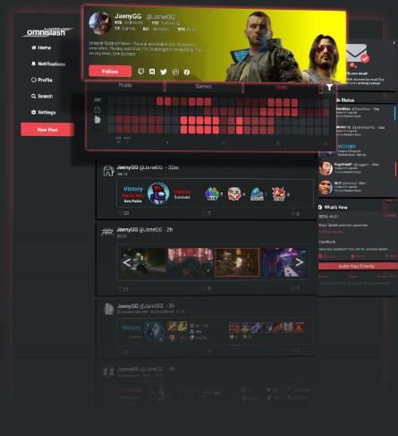Omnislash Cyberpunk Profile Banner